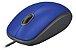 MOUSE USB LOGITECH M110 SILENT AZUL - Imagem 1