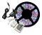 FITA LED RGB 5M C/ FONTE E CONTROLE - Imagem 1