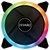 COOLER FAN P/ GABINETE 120MM LED RGB BOREAS - Imagem 1