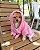 Roupão Toalha para Cachorro e Gato Vermelho e Marinho - Imagem 2
