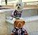 Pijama Camisa para Cachorro e Gato Xadrez - Imagem 3