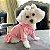 Vestido Esportivo para Cachorro Rosa - Imagem 2
