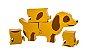 Puzzle Cachorro Basset - 5 Peças  - Imagem 2