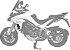 Protetor de Radiador Ducati MULTISTRADA 950 e 1200 ENDURO SCAM  - Imagem 2