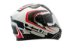 Capacete Zeus 813 AN15 SOLID WHITE / WHITE RED - Imagem 4