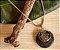 Colar Difusor Amuleto - Pedra Vulcânica - Imagem 1