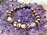 Kit Pulseiras de Aromaterapia - Olho de Tigre e Jaspe Zebra Marrom - Imagem 4
