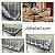 Espículas Anti-Pombos Jetaplast - 10 metros lineares - Imagem 1