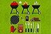 Kit Cozinha Churrasco 2 - Imagem 3