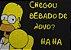 Capacho Chegou Bebado De Novo Homer - Imagem 2