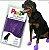 Botas Para Cachorros Pawz L Roxa (4 unid) - Imagem 1