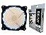 Cooler Gamer Fan 120MM Com Led Branco DX-12F - Imagem 1