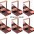 Kit 06 Unidades Sombra Para Sobrancelhas Com Espelho Max Love Cor 02 - Imagem 1