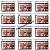 12 Unidades - Paleta 32 Sombras Sweet Eyes Ruby Rose HB9972 - Imagem 1