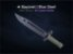 ★ Bayonet | Blue Steel (Well-Worn) - Imagem 1