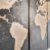 Mapa Mundi - Quadro Mosaico 5 Telas em Canvas - Imagem 4