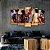 pink floyd - Quadro Mosaico 5 Telas em Canvas - Imagem 1