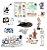 Kit de Ciências - 50 itens - Imagem 1