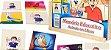 Memória Animais com Libras - 40 peças - Imagem 1