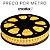 Fita LED BRANCO QUENTE 3000K, 14,4w/m- CRISTALLUX - Plug & Play DIMERIZÁVEL - Tensão de rede - Blindada - PREÇO POR METRO - cabo de ligação vendido separadamente - Imagem 1