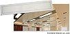Luminária Painel Slim Embutir 40w RETANGULAR 32X122 - CRISTALLUX - Imagem 1