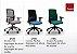 Cadeira Giratória 17201 Syncron, Enc. Plástico Preto, Aranha UP Preta, Rod. 65 Nylon, Braço SL Preto, Injetado  - Imagem 3