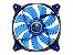 COOLER FAN P/GAB 120X120X25 LED AZUL CFD120 CF-D12HB-B COUGAR - Imagem 1