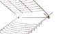 Grelha Dupla Inox UZE  - Imagem 1