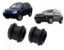Par De Bucha Da Barra Estabilizadora Suspensão Traseira Hyundai Tucson 2.0 Kia Sportage 2.0 - Imagem 1