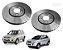 Par Disco De Freio Dianteiro Phc Original Hyundai Tucson 2.0 Kia Sportage 2.0 2005 a 2015 - Imagem 1