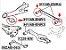 Par De Buchas Do Facão Suspensão Traseira Hyundai I30 2.0 I30 Cw 2.0 - Imagem 2