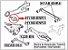 Bucha Do Facão Suspensão Traseira Hyundai Ix35 2.0 Kia Sportage 2.0 77 mm Lado Esquerdo - 552742S000 - Imagem 3