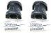 Par Bucha Estabilizadora Traseira Original Subaru Impreza Wrx Sti 2000 a 2007 - 20464FE050 - Imagem 1