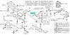 Par De Bucha Pequena Dianteira Original Subaru Forester Impreza Legacy Outback Tribeca - 20204AG030 - Imagem 2