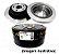 Par De Disco De Freio Traseiro Subaru Legacy 2.5 Outback 2.5 3.0 - Imagem 1
