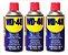KIt Com 03 Frascos De WD-40 Desengripante Spray 300ml Multi Uso - Imagem 1
