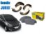 Jogo De Pastilhas De Freio Com Sapata Traseira Hyundai Hb20 1.6 - Imagem 1