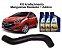 Mangueira Superior Radiador Hb20 1.6 Com Aditivo Coolant Petronas Pronto para Uso - Imagem 1