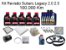 Kit Revisão Subaru Legacy 2.0 2.5 100 Mil Km Com Óleo Motul 10W40 Turbolight Semi-Sintético - Imagem 1