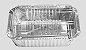 Bandeja de Aluminio Wyda D12FS Tampa Pet 220ML - Imagem 1