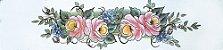 Cortina para cozinha 2,00 x 1,2m Princesa em Renda Branca - Rosas - Imagem 2
