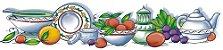 Cortina para cozinha 1,50x1,20m Princesinha em Renda Branca - Louças - Imagem 2