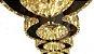 PENDENTE CROMO EM CRISTAL COM CONTROLE EM LED 108W BIVOLT. - Imagem 1