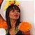 Ombreira carnavalesca pena - Imagem 1