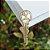 Pingente chave dourada - Imagem 1
