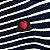Camiseta Feminina Love Listrada Curta - Imagem 5