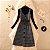 Vestido Xadrez Vintage + Cinto + Blusinha - Imagem 2