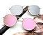 Óculos de Sol Feminino Redondo Espelho - Imagem 1