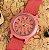 Relógio Feminino de Bambu Pink - Imagem 2