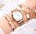 Relógio Feminino Trevo + Pulseiras - Imagem 2
